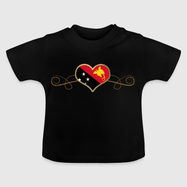 Gold Love Land Roots Papua New Guinea - Baby T-Shirt