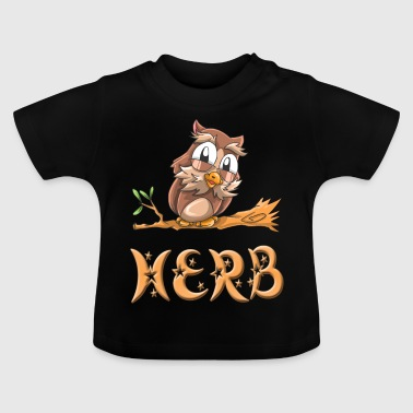 Owl herb - Baby T-Shirt