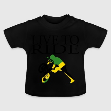 Geschenk Fahrrad Live to Ride Cycle Jamaica - Baby T-Shirt