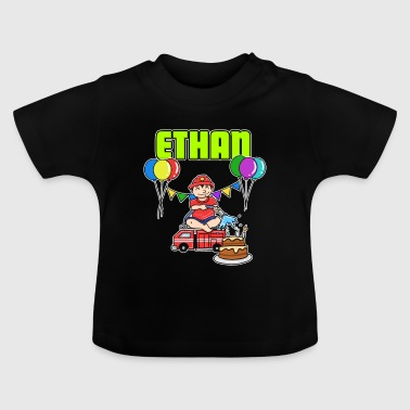 Fire Department Ethan Gift - Baby T-Shirt