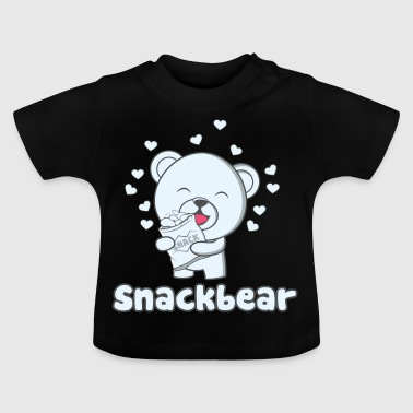Snack bear / snack bear with heart - Baby T-Shirt
