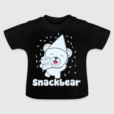 Snack bear / snack bear with hat - Baby T-Shirt