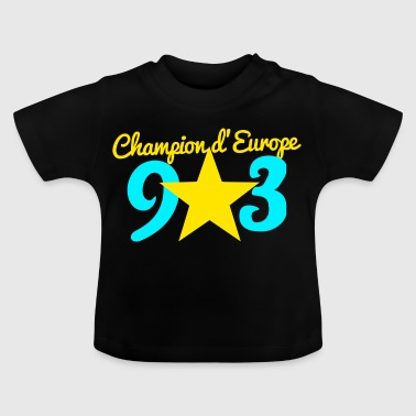 Collection CHAMPION D'EUROPE 93 - T-shirt Bébé