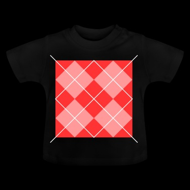 rood vierkant - Baby T-shirt