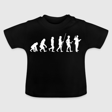 Evolution to the teacher T-shirt gift - Baby T-Shirt