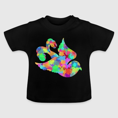 Bunter Vogel - Baby T-Shirt