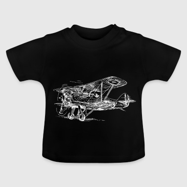 avion - T-shirt Bébé