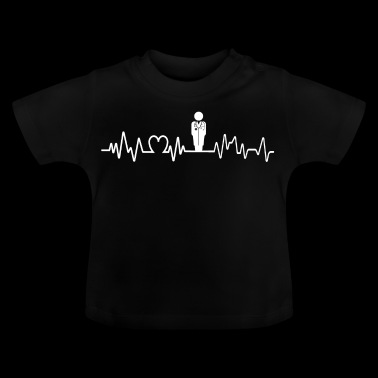 Heartbeat Doctor T-shirt Hospital Health - Baby T-shirt