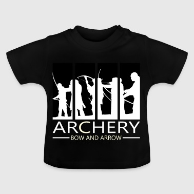 Archery bow sport bow crossbow gift - Baby T-Shirt