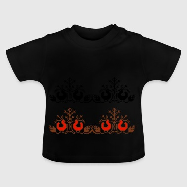 pixel ornament - Baby T-Shirt