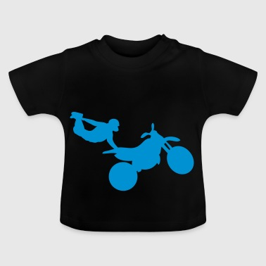 motorcycle12 Freestyle Quer moto1 - Baby T-Shirt