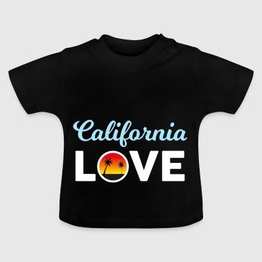 California sun vacation palm gift - Baby T-Shirt