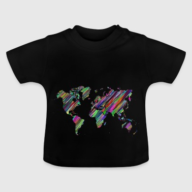 The whole world map - Baby T-Shirt