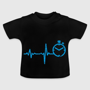 Cadeau Heartbeat Sprint Athletics - T-shirt Bébé