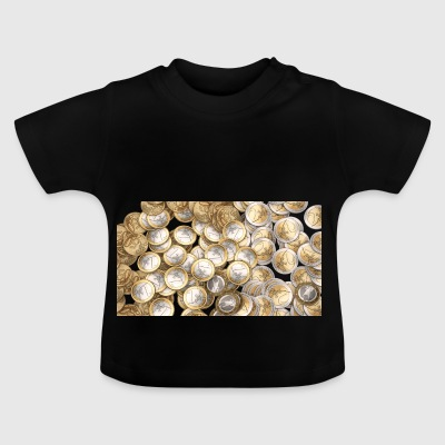 50 cents 1 Euro 2 Euro pieces - Baby T-Shirt