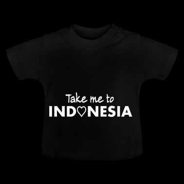 INDONESIA - Llévame a Indonesia - Indonesia Indo - Camiseta bebé