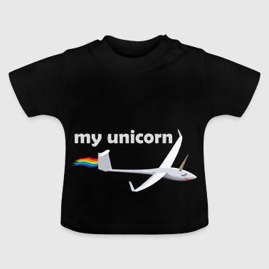 unicorn svævefly glider gave Unicorn - Baby T-shirt