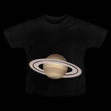 Saturn Planet Space Ring cadeau-idee - Baby T-shirt