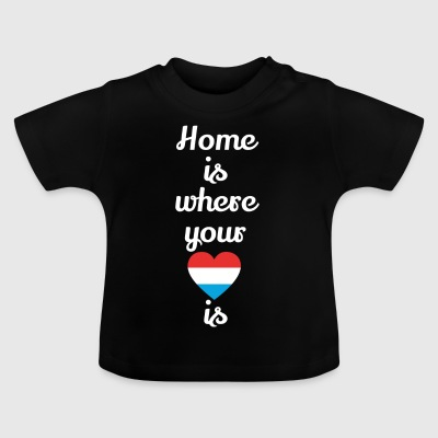 gift home heart love love Luxembourg - Baby T-Shirt