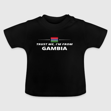 trust me from proud gift GAMBIA - Baby T-Shirt