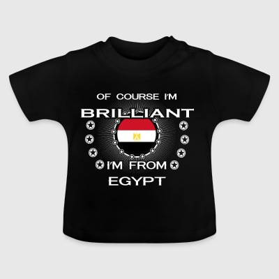 I AM GENIUS CLEVER BRILLIANT EGYPT - Baby T-Shirt
