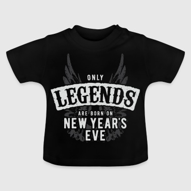 Legender er født Grunge New Years Eve - Baby-T-skjorte