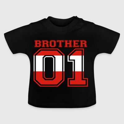 Brother 01 kung Österrike - Baby-T-shirt