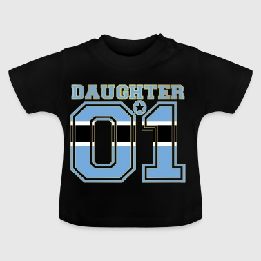 Daughter 01 daughter queen Botswana - Baby T-Shirt