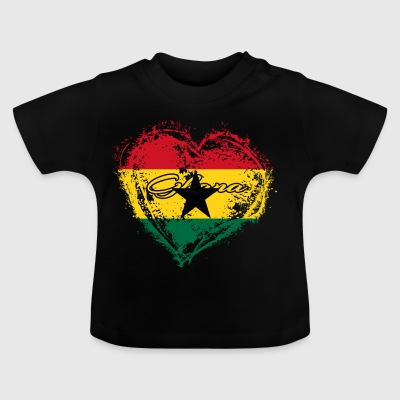 HJEMLAND ROOTS GAVE LOVE Ghana - Baby T-shirt