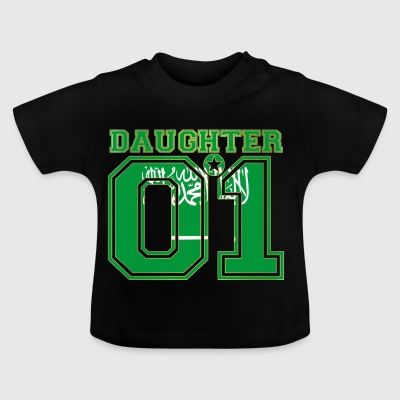 Daughter 01 daughter queen Saudi Arabia - Baby T-Shirt