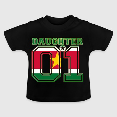 Daughter 01 daughter queen Suriname - Baby T-Shirt