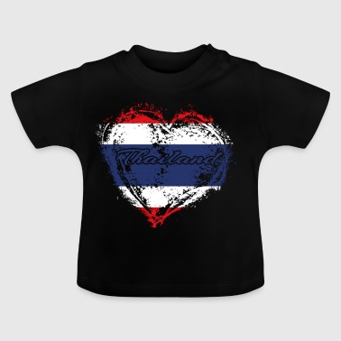HOME ROOTS COUNTRY POISON LOVE Thailand - Baby T-Shirt