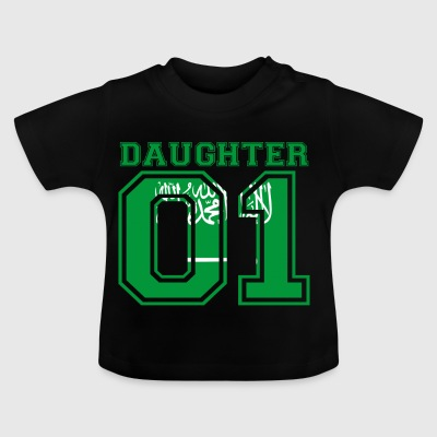 Daughter daughter queen 01 Saudi Arabia - Baby T-Shirt