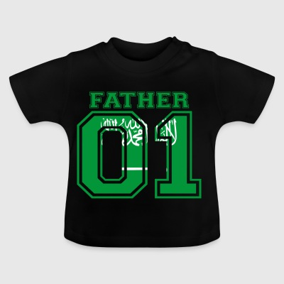 Father father dad 01 queen Saudi Arabia - Baby T-Shirt