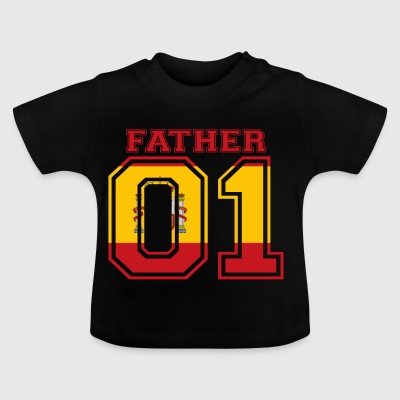 Father father dad 01 queen spain - Baby T-Shirt