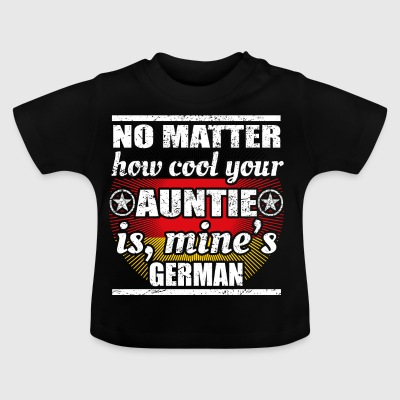 no matter cool auntie aunt gift Germany png - Baby T-Shirt
