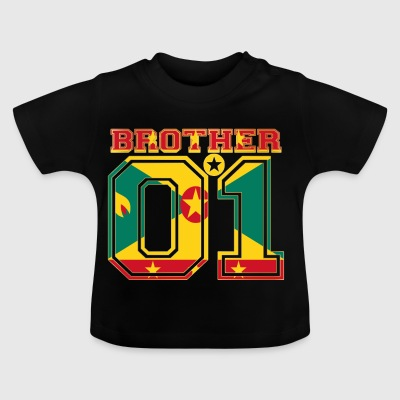 king bruder brother 01 partner Grenada - Baby T-Shirt