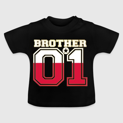 brother brother brother 01 partner POLAND polska poland - Baby T-Shirt