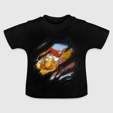Currywurst in mir - Baby T-Shirt