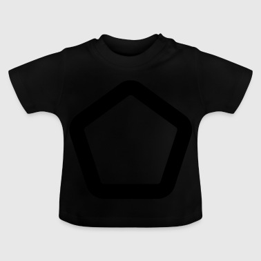 SHAPES SHAPES CLEAN - Baby-T-shirt