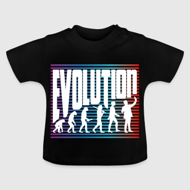 evolution - Baby-T-shirt