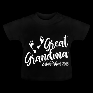 Great Grandma Established - Baby T-Shirt