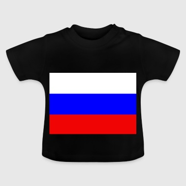 Russian flag - Baby T-Shirt