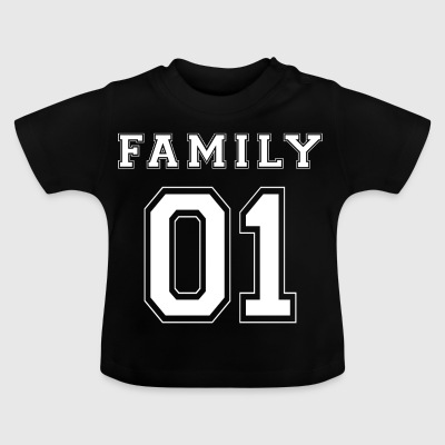 FAMILY 01 - White Edition - Baby-T-shirt