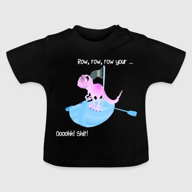 Dino an Board! - Baby T-Shirt