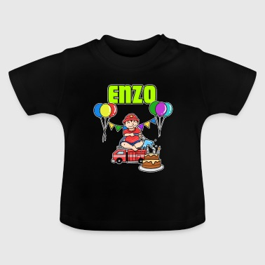 Fire Department Enzo Gift - Baby T-Shirt