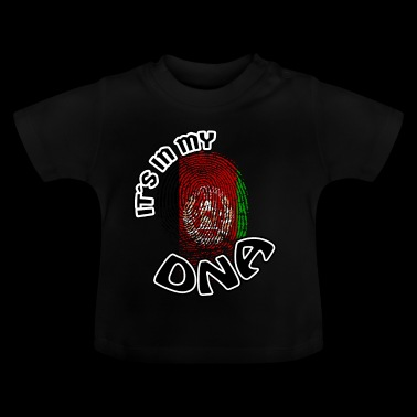 Geschenk Its in my dna dns roots Afghanistan - Baby T-Shirt