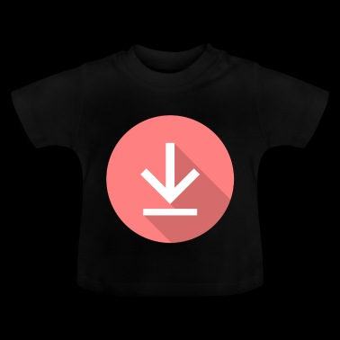 Download icon, download icon - Baby T-Shirt