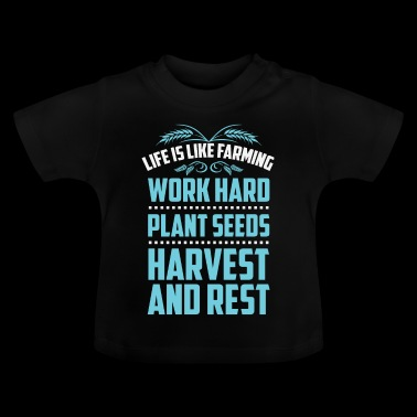 Work Hard - Baby-T-shirt