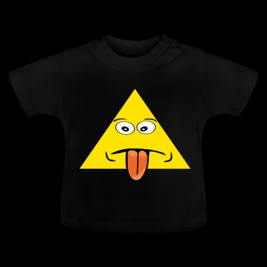 langue triangle - T-shirt Bébé
